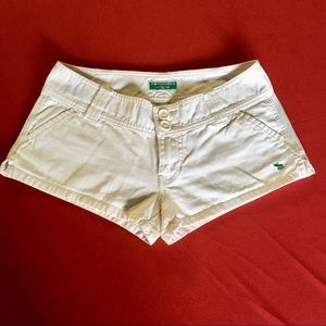 Abercrombie White Short Size 0 Girls